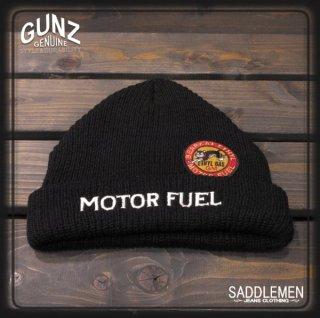 GUNZ「MOTOR FUEL」ニットキャップ