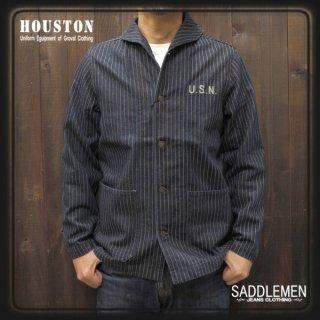 SALE! ヒューストン「WABASH DENIM」USNカバーオール<br />定価15,180円