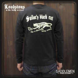 ロードストーンズ「SAILOR'S BLACK CAT」ロングTシャツ
