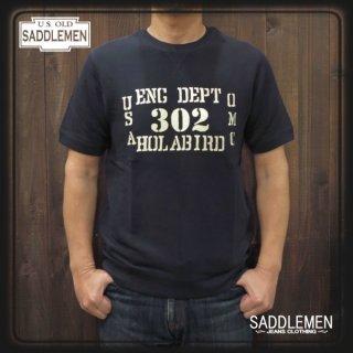 サドルメン「HOLABIRD」スウェットTシャツ