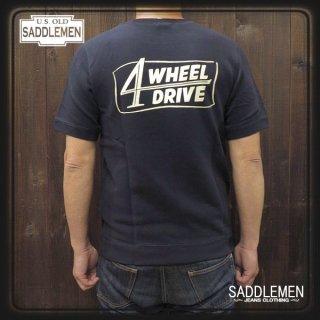 サドルメン「4 WHEEL DRIVE」スウェットTシャツ