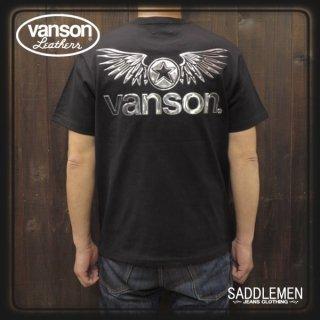 VANSON(バンソン) 「SILVER EMBOSSED」Tシャツ