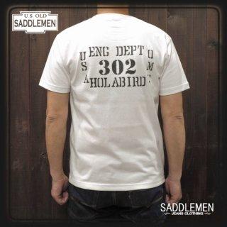 サドルメン「HOLABIRD」ポケットTシャツ