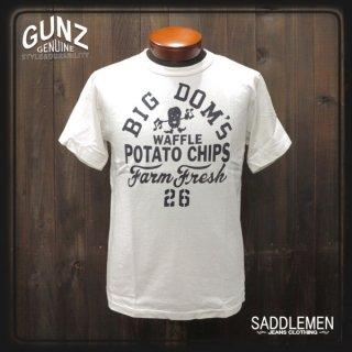 ガンズ「BIG DOM'S POTATO CHIPS」Tシャツ