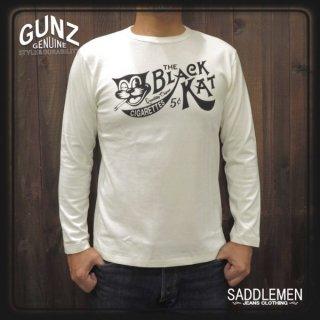 ガンズ「THE BLACK KAT」ロングTシャツ