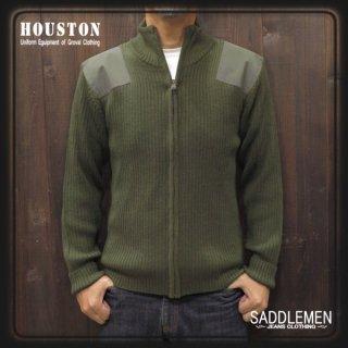 SALE! ヒューストン「W/R COMMAND 」ZIPセーター<BR>定価11,880円