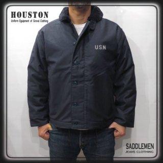 SALE! ヒューストン「N-1 NAVY」デッキジャケット <br />定価28,380円