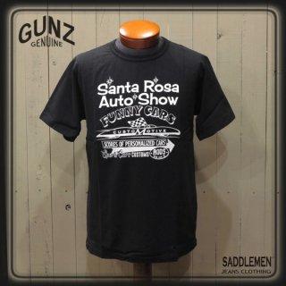 ガンズ「SANTAROSA AUTO SHOW」Tシャツ