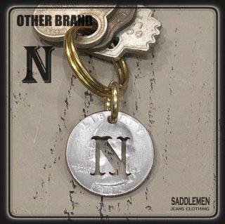 OTHER BRAND「25¢-ALPHABET」キーホルダー(N~Z)