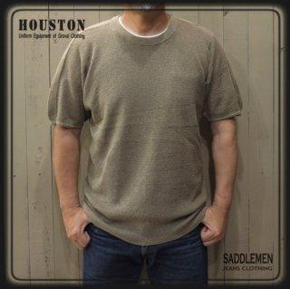 ヒューストン「COOLMAX PLATING」ニットTシャツ