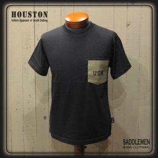 ヒューストン「CORDURA U.S.N.」ポケットTシャツ