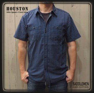 ヒューストン「INDIGO WABASH」ワークシャツ