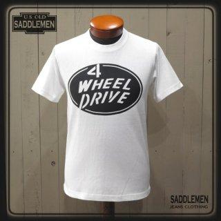 サドルメン「4WHEEL DRIVE」Tシャツ