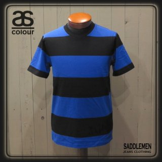 AS Colour「WIDE STRIPE」Tシャツ