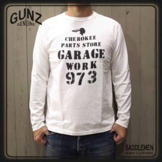 ガンズ「CHEROKEE PARTS STORE」ロングTシャツ