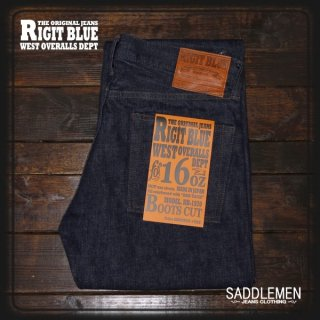 RIGIT BLUE 「16oz.SELVAGE 1970」ブーツカット