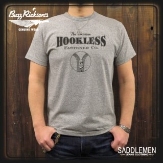 BUZZ RICKSONS「HOOKLESS FASTENER CO」Tシャツ