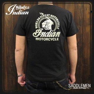 インディアンモーターサイクル 「WORLD FINEST MOTORCYCLE」Tシャツ