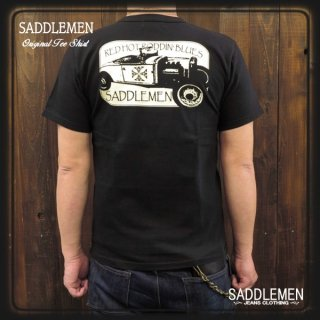 SADDLEMEN 「RED HOT RODDIN' BLUES」Tシャツ