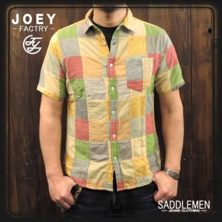 JOY「PATCH WORK」シャツ