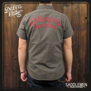 デラックスウェア 「REPAIR MAN」シャンブレーシャツ