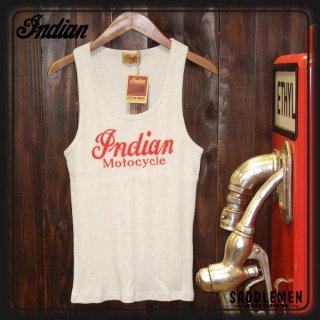INDIANモトサイクル「INDIAN  LOGO」タンクトップ