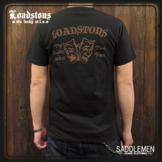 LOADSTONS「LUCKY WIN TWO FACE」Tシャツ