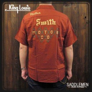 KING LOUIE「Smith MOTOR CO.」40'Sボウリングシャツ