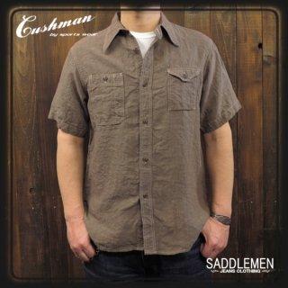 CUSHMAN「LINEN CHAMBRAY」ワークシャツ