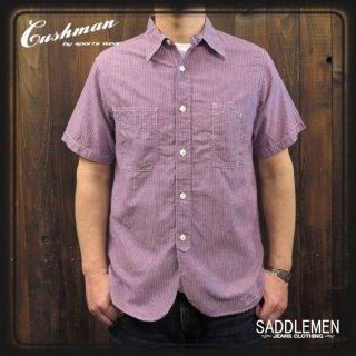 CUSHMAN「PINHEAD STRIPE」ワークシャツ