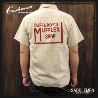CUSHMAN「DUFF & ROY'S EMBRIDERY」ワークシャツ