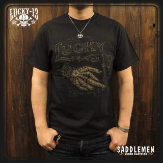 LUCKY-13「CROSSED」Tシャツ
