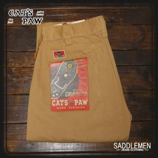 CAT'S PAW「BASIC CHINO」トラウザース