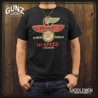 GUNZ「RED JACKET MOTOR OIL」Tシャツ