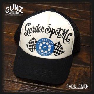 GUNZ「GARDEN SPOT MC」メッシュキャップ
