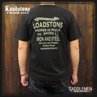 LOADSTONS「HORSE SHOE COMPANY」Tシャツ