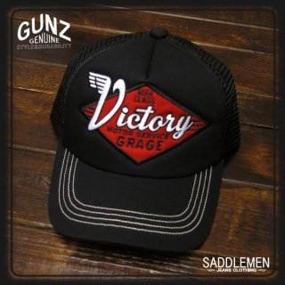 GUNZ「VICTRY」メッシュキャップ