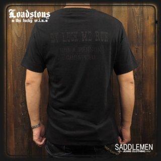 LOADSTONS 「BY LUCK ME RUN」ヘンリーネックTシャツ