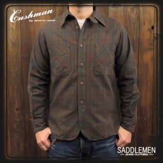 クッシュマン「EARLY MODEL」チェックワークシャツ