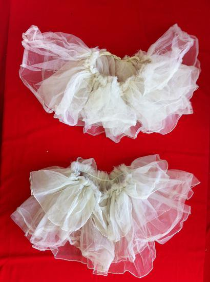 7a5ba6fb23459 仮装コスプレ衣装 バレリーナスカート・特大と大いずれか 男性仮装 ハンパ 白 男女兼フリー・日本製・ポリエステル、使用感少、ドレス ・シューズ・タイツ別途あり。
