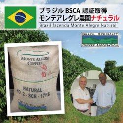 ブラジル モンテアレグレ ナチュラル BSCA認証 GP(Brazil Monte Alegre  Natural BSCA GP)