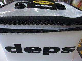 デプス ツールバッグ L 白