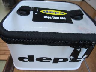 デプス ツールバッグ M 白