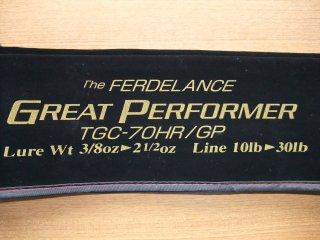 デプス フェルデランス TGC−70HR/GP 送料が別途必要です。 近県は3000円〜九州、東北は6000円)が別途必要です。