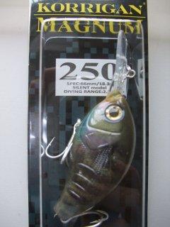 デプス コリガンマグナム250 18g リアルブルーギル