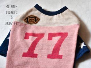 ラグビーTシャツ*ピンク*