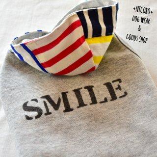 SMILEパーカー*グレー