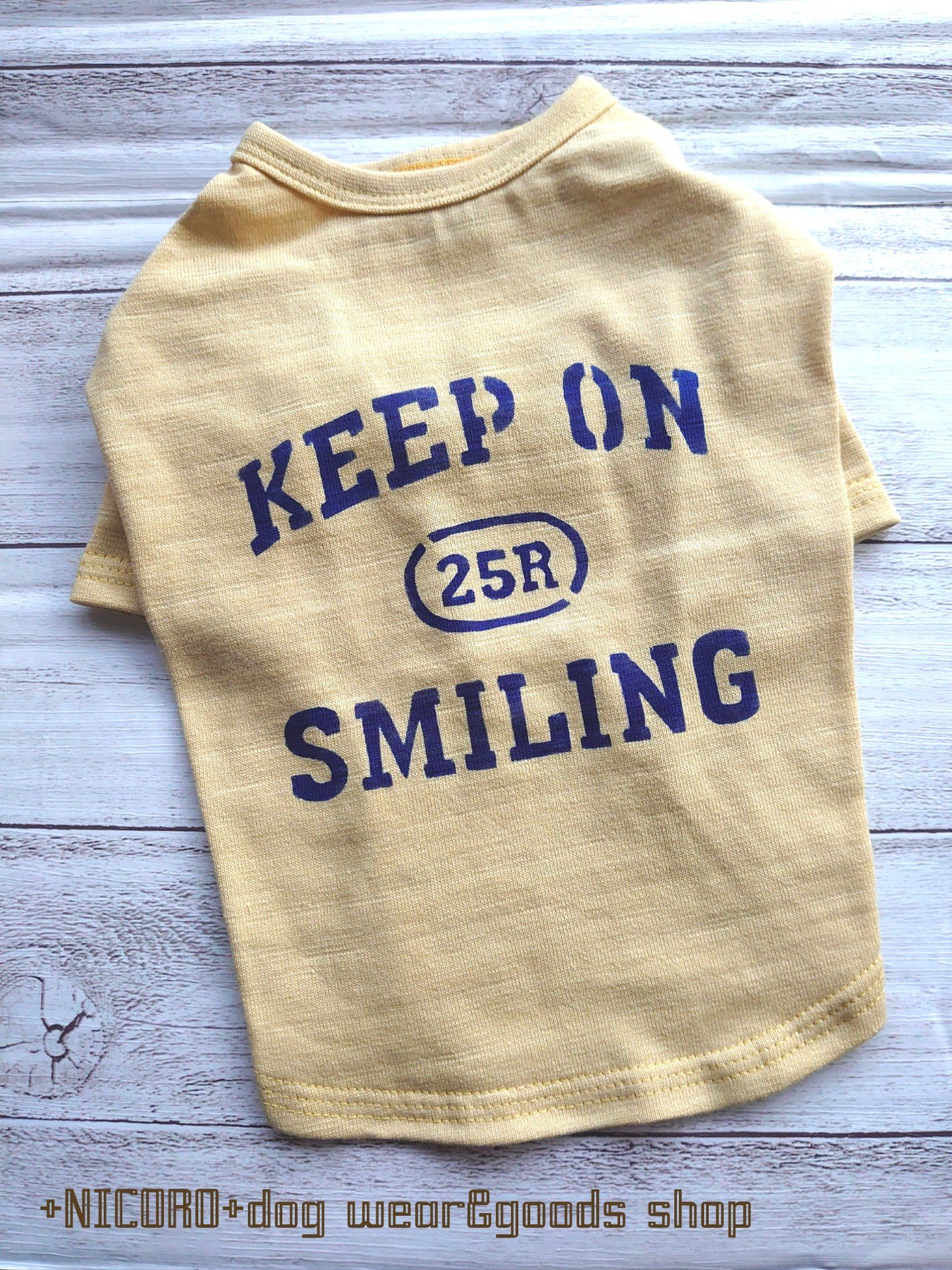 KEEP ON SMILING★Tシャツ*レモン*