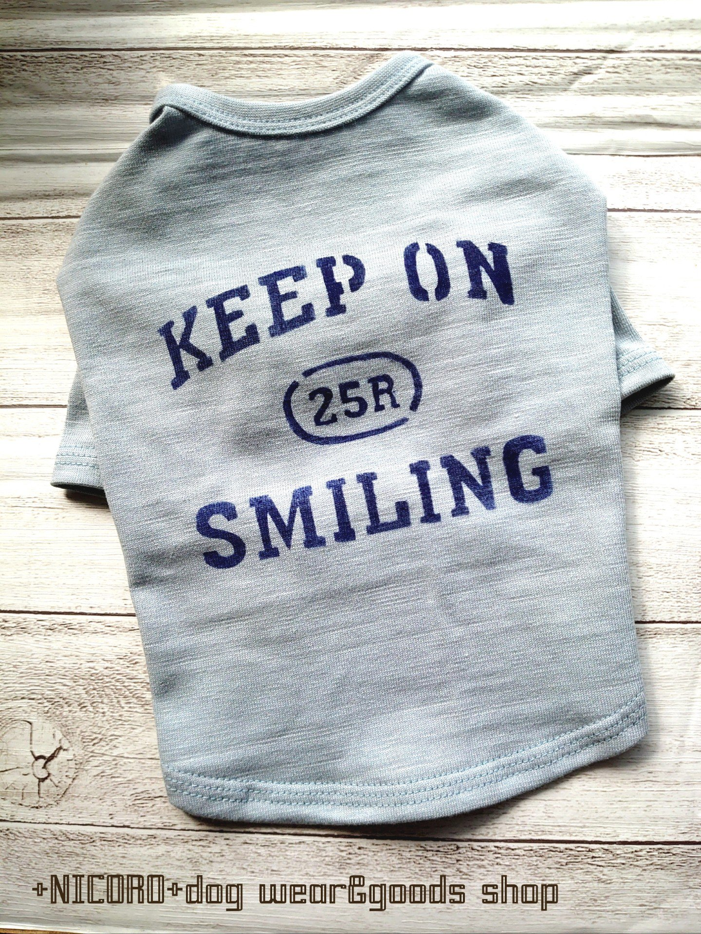 KEEP ON SMILING★Tシャツ*ベリー*