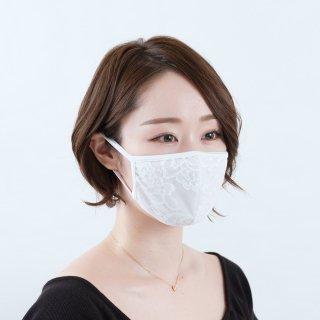 【MSK-003】2wayマスク (ストレッチレース/抗菌・防臭スーパーストレッチ)